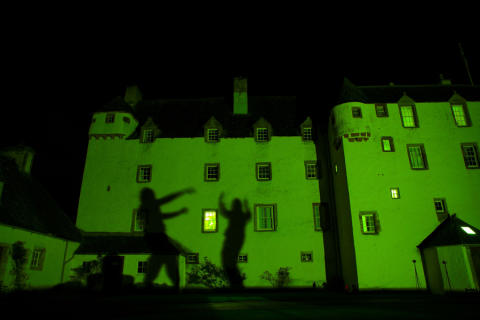 Spooky Traquair House