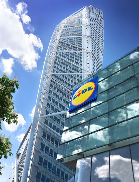 Lidl till Turning Torso Gallery