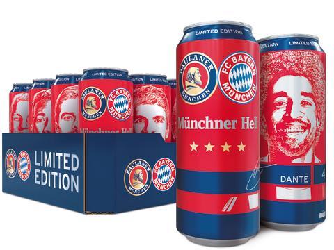 Exklusiv: Paulaner Münchner Hell in der FC Bayern Edition