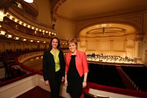 Delivering success for Scotland on a global stage