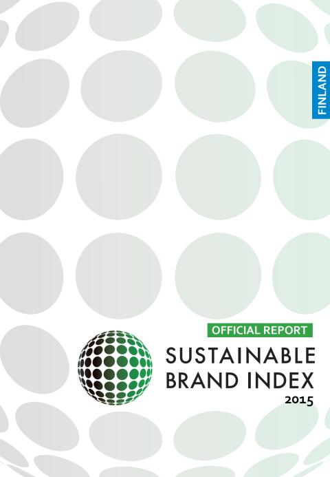 Sustainable Brand Index 2015 - officiell rapport för Finland