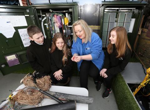 Bridge Of Don pupils get an insight into fibre broadband