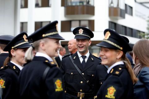 Klar til innsats i politiyrket