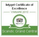 Scandic får prestigefull utmärkelse av TripAdvisor