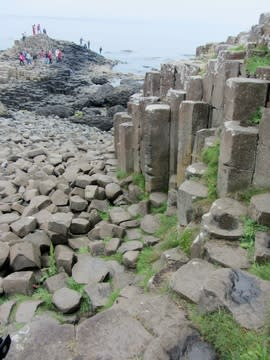 Rock pillars, Giant's Causeway
