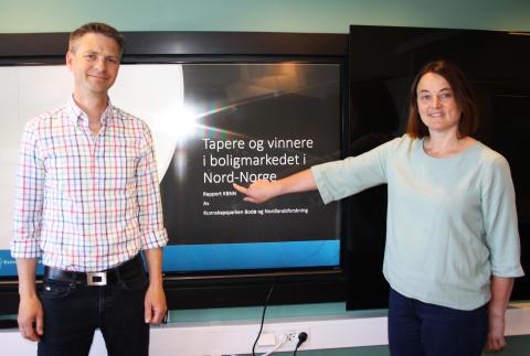 Boligprisvekst i byene hindrer mobilitet i Nord-Norge
