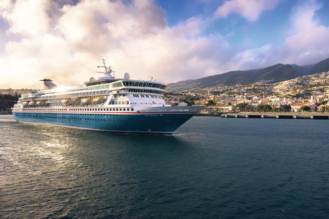 Fred. Olsen launches inaugural 'Balmoral' cruise season from Edinburgh