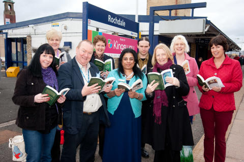 Library Service on the Right Track for World Book Night