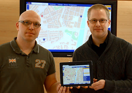 Nu lanserar vi Halmstads kommuns egen karttjänst