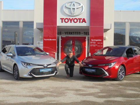 Nye Toyota Corolla Hybrid er klar for Namsos