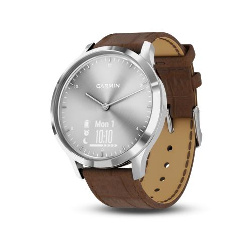 vívomove HR Premium Silber Braun
