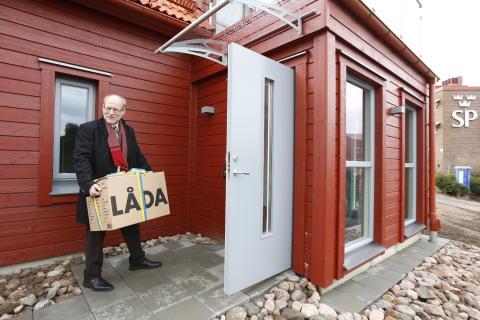 Inflyttning i Sveriges mest välbevakade energivilla