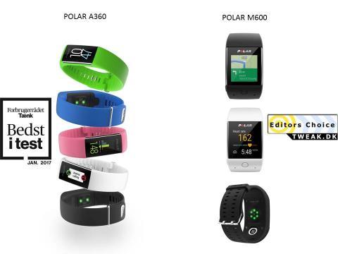 Polar produkter vinder test.