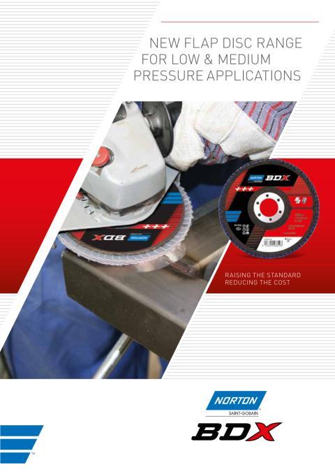 Brochure BDX flap discs