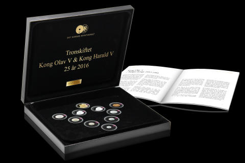 Jubileumssettet Tronskiftet 25 år