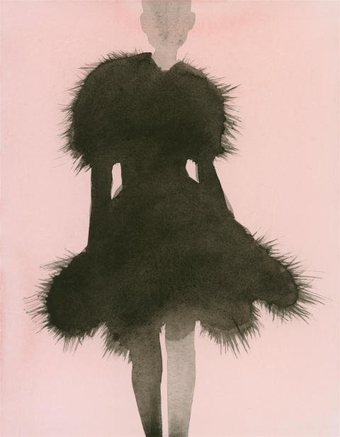 Coat dress. Mats Gustafson. Azzedine Alaïa.