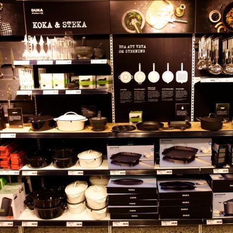 City Gross skapar med DUKA Kitchen Life den nya tidens köksbutiker