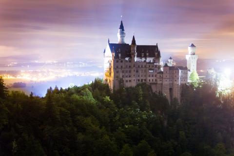 Slott Neuschwanstein, Tyskland