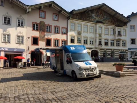 Beratungsmobil der Unabhängigen Patientenberatung kommt am 29. August nach Bad Tölz.