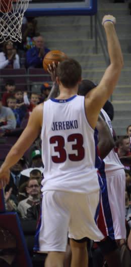 Jerebko gjorde 17 när Pistons slog Iversons Sixers