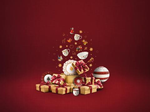 Wohlfühl- und Genussmomente voller Nostalgie – Festlich tafeln und feiern mit den Weihnachtskollektionen von Villeroy & Boch