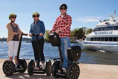 Leventa erbjuder sommarpresent med Segway Event i Vaxholm