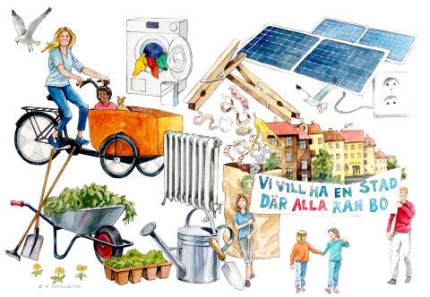 Hyresgästföreningen startar hållbarhetsvecka