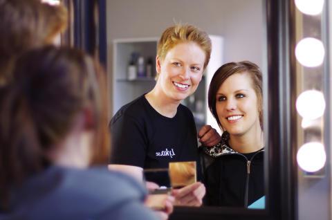 Makeupstudion i Lagerbutiken