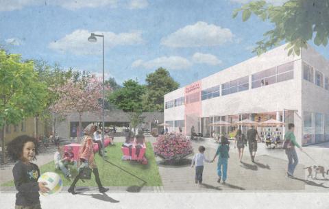 Invigning av Östberga Kulturhus