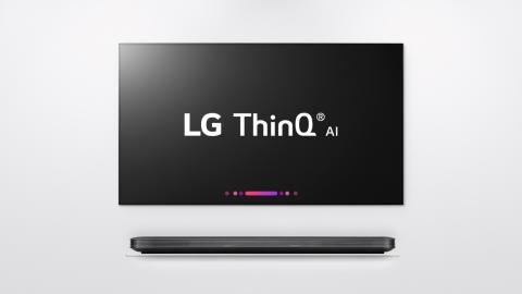 LG LEGGER GRUNNLAGET FOR MORGENDAGENS TV MED THINQ® OG α (ALPHA) PROSESSOR