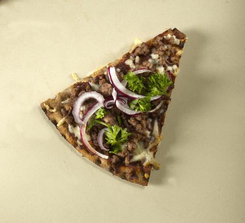 Knäckepizza - Bolognese