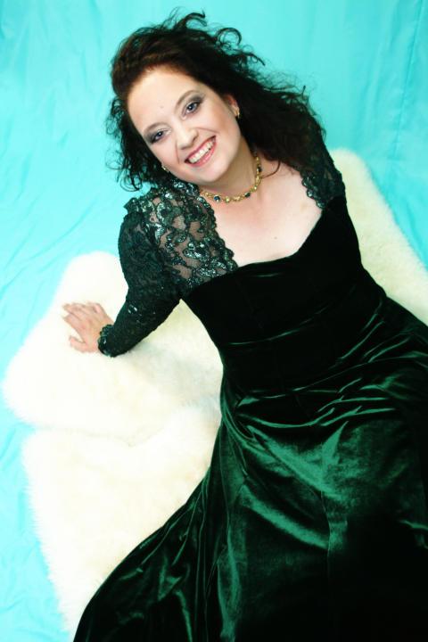 Världsstjärnan Ann Hallenberg på Drottningholms Slottsteater