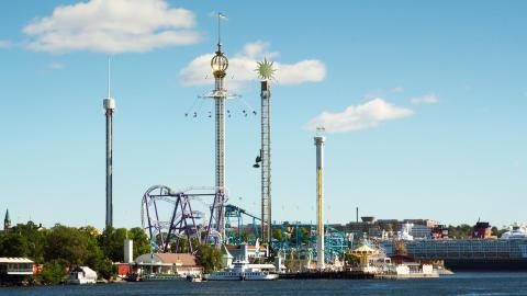 Historiskt besöksrekord för Gröna Lund