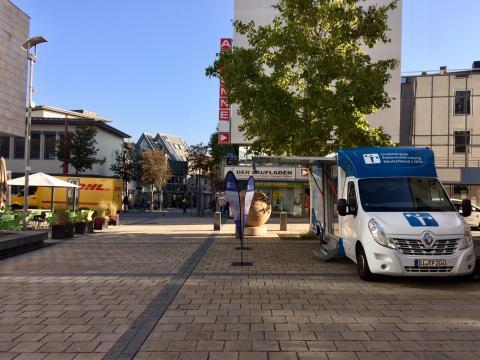 Beratungsmobil der Unabhängigen Patientenberatung kommt am 5. Juli nach Kaiserslautern.