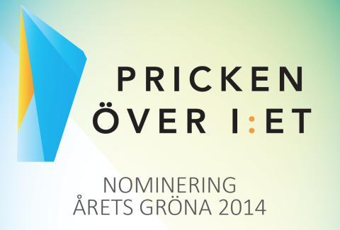Eskilstuna Marknadsföring AB nomineras till Årets Gröna