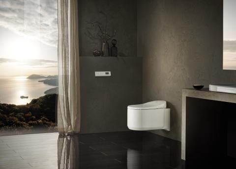 New Sensia® Arena dusjtoalett er fullpakket med smartteknologi