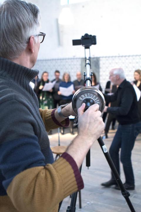 Par Fridberg filmar