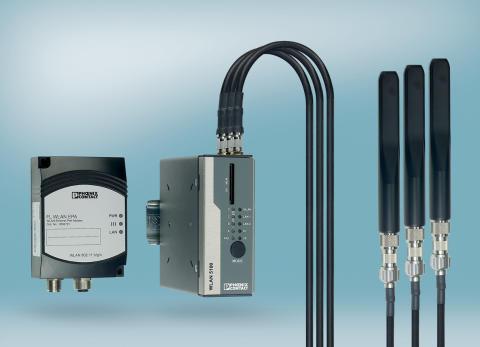 Industriell IP67 kapslad WLAN adapter för 5 GHz bandet