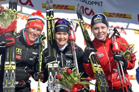 Britta Johansson Norgren won Tjejvasan 2016
