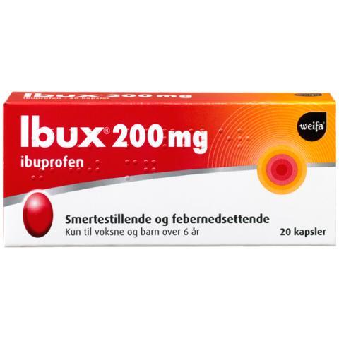 Ibux kapsler 200mg