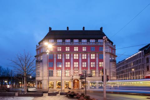 Große norwegische Reedereigeschichte: Das neue Hotel Amerikalinjen