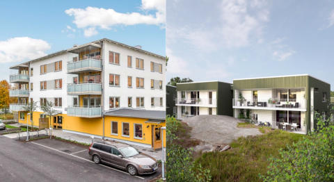 Två Riksbyggen-projekt i topp på nöjd kundindex, NKI, för bostadsrätter i nyproduktion