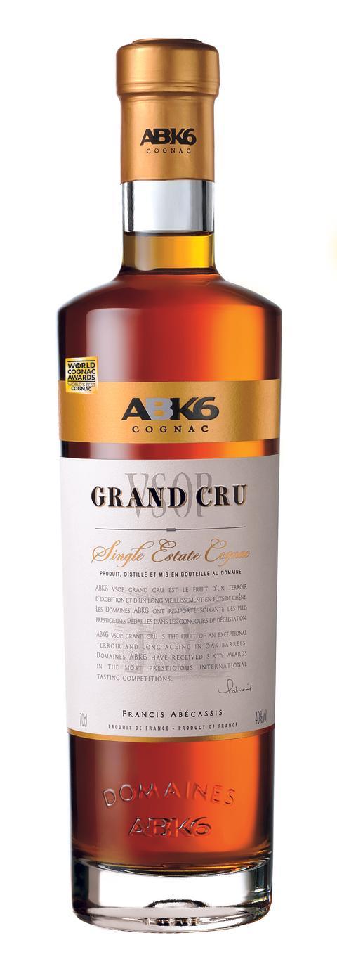 ABK6 VSOP Grand Cru Single Estate - världens bästa cognac