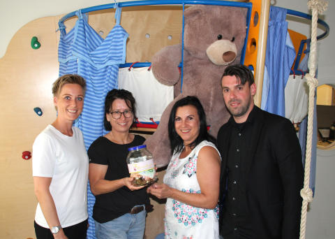 Spendenaktion für Bärenherz in der Beauty Lounge Christa Pagels