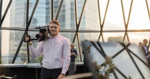 The graduate behind the North East's fastest growing video agency