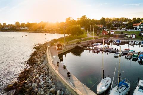 Sydkustleden i Abbekås, Skåne