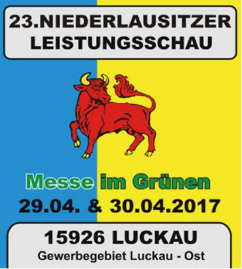 23. Niederlausitzer Leistungsschau in Luckau