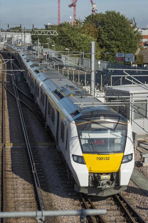 Class 700 on East Coast Mainline