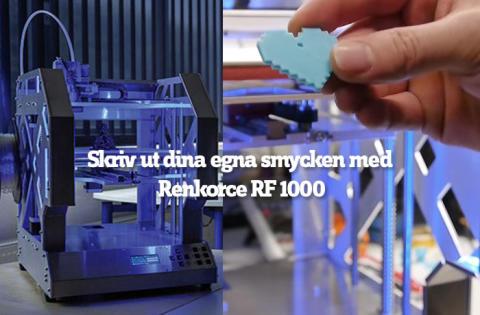Skriv ut dina egna smycken med Renkforce RF1000