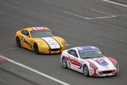 Dramatik i Ginetta GT5 Challenge på Circuit De Spa-Francorchamps